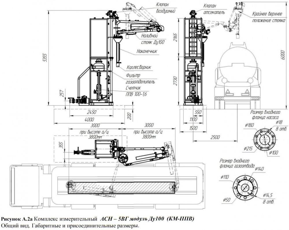 Асн 5вг модуль ду-100 схема подключения
